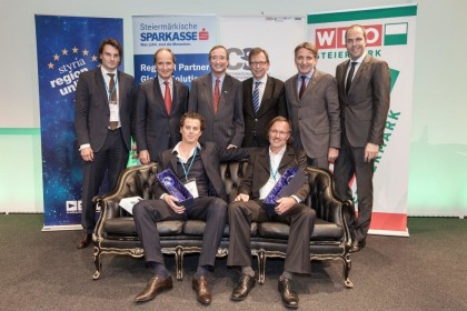 Gruppenbild mit Gewinnern des Exportpreises 2014 ©ICS