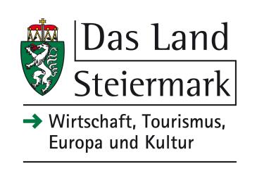 Logo Das Land Steiermark, Ressort für Wirtschaft, Tourismus, Europa und Kultur
