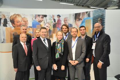 ©Der österreichische Botschafter traf sich mit der steirischen Delegation.