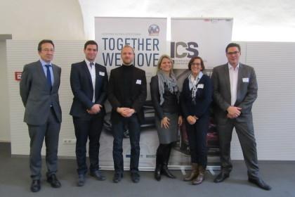 Teilnehmer Videokonferenz ©ICS
