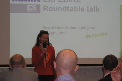 EXPEDIRE Networking Event – Round Table Talk: 19. April 2017 in LaibachEXPEDIRE Networking Event – Round Table Talk: 19. April 2017 in Laibach © ICS