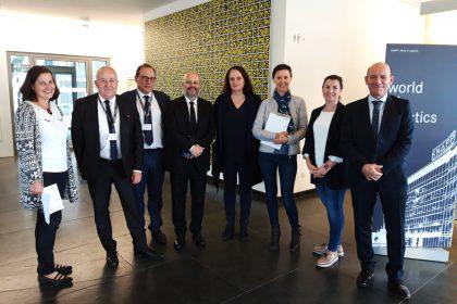 ©ICS | Delegationsbesuch bei der Firma KNAPP